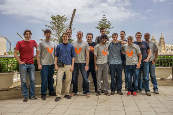 Photo Group with the Canonical Community Team